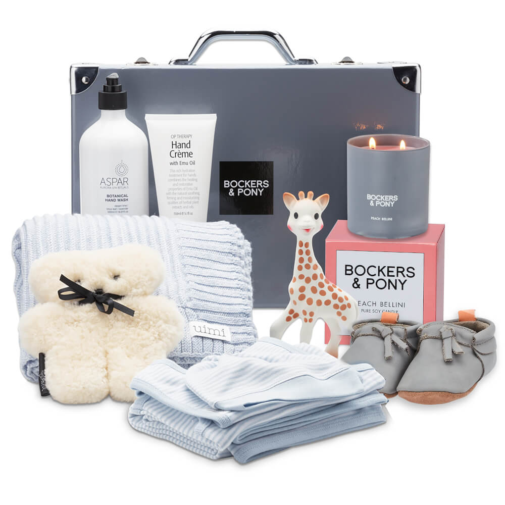 Splendid Baby Boy Luxury Gift Hamper - Classic gift hamper
