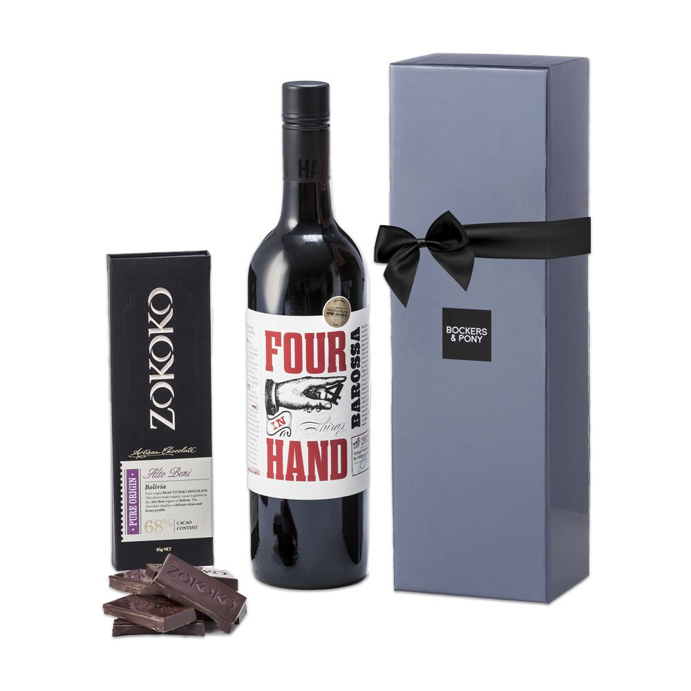 Red Wine + Zokoko gift hamper