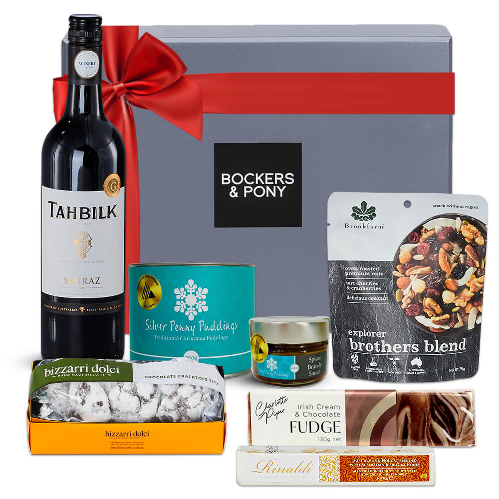 Christmas in July - Shiraz gift hamper
