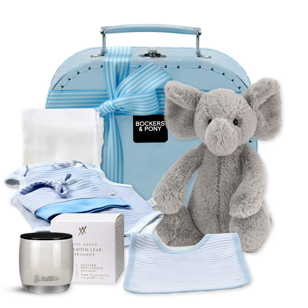 Luxury Baby Boy - Classic gift hamper