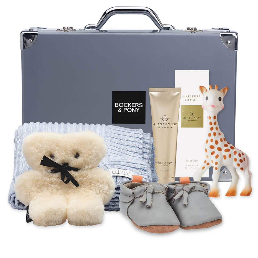 Opulent Baby Boy Luxury Hamper - Classic gift hamper