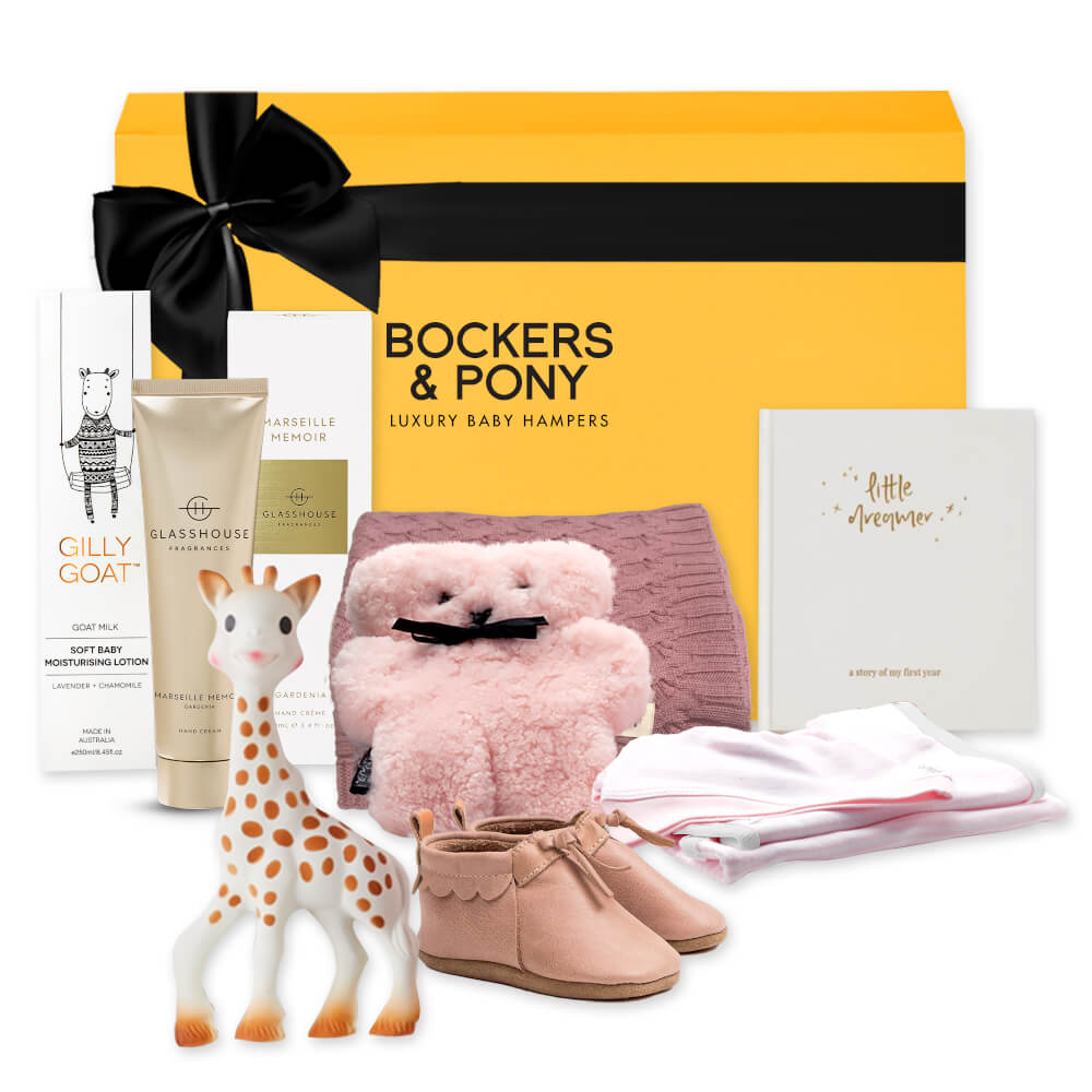 Splendid Baby Girl Luxury Gift Hamper gift hamper