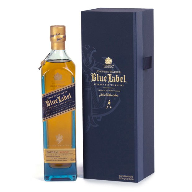 Johnnie Walker Blue gift hamper