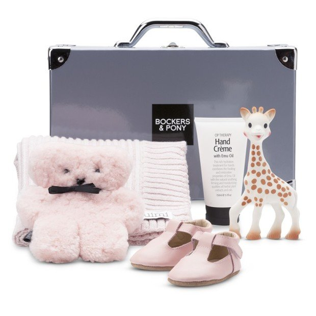 Opulent Baby Girl Luxury Hamper - Classic gift hamper