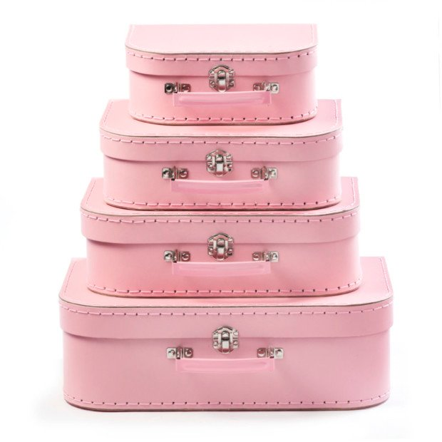 Pink Suitcase Set | Baby Hampers | Baby Gifts